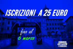 Iscrizioni a 25 euro fino al 6 marzo!
